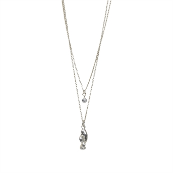 Picture of Necklace Rebecka, silver plating