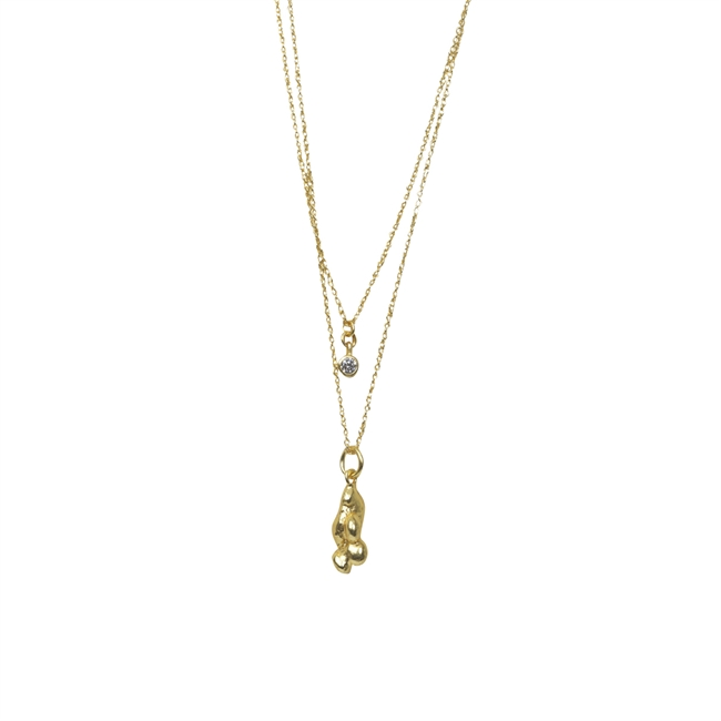 Picture of Necklace Rebecka, gold plating