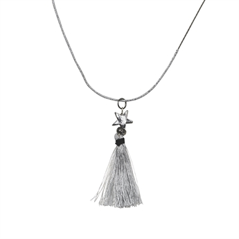 Picture of Necklace Adele, gun metal