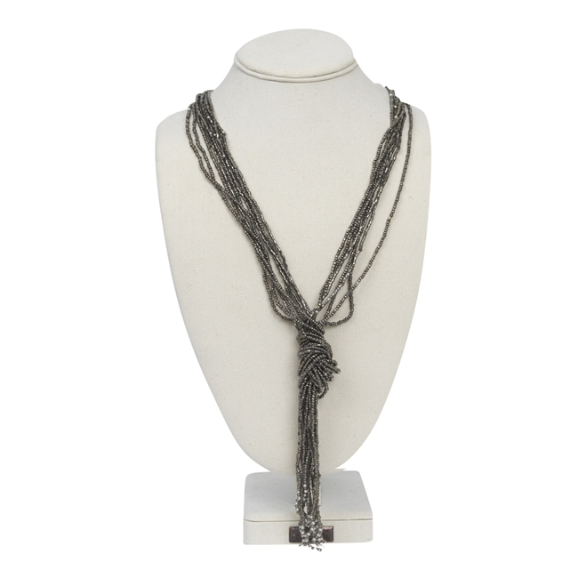 Picture of Necklace Amelie, gun metal