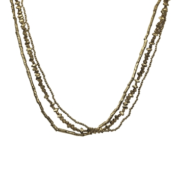 Picture of Necklace Miriam, antique gold