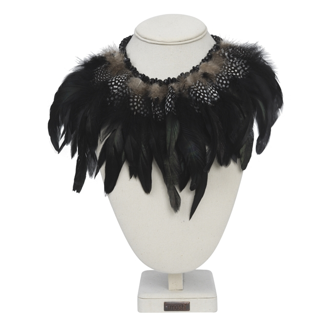 Picture of Necklace Glam, black mix