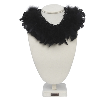 Picture of Necklace Garbo, black mix