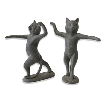 Picture of Dancing Cat, 2 asst