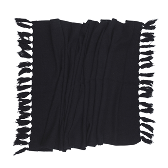 Picture of Vintage washed Table runner 50x150 Black
