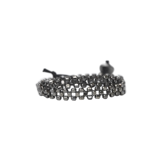 Picture of Bracelet Iris, gun metal