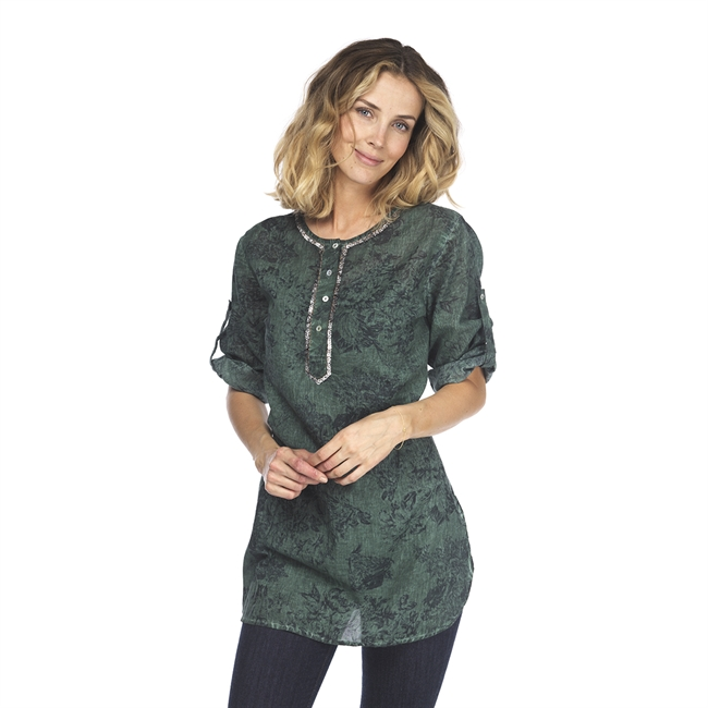 Picture of Tunic Zoe, green