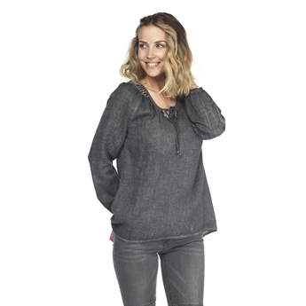 Picture of Tunic Simona, dk grey