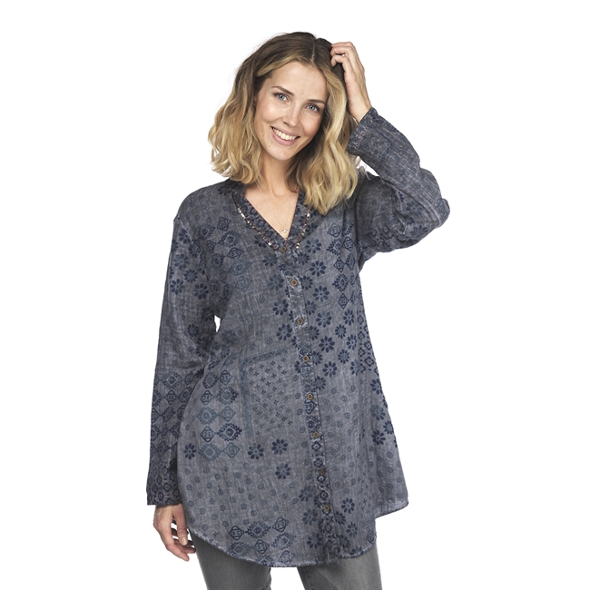 Picture of Tunic Elena, dk grey