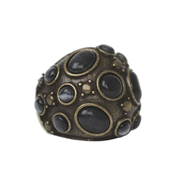 Picture of Ring Leja, black diamond