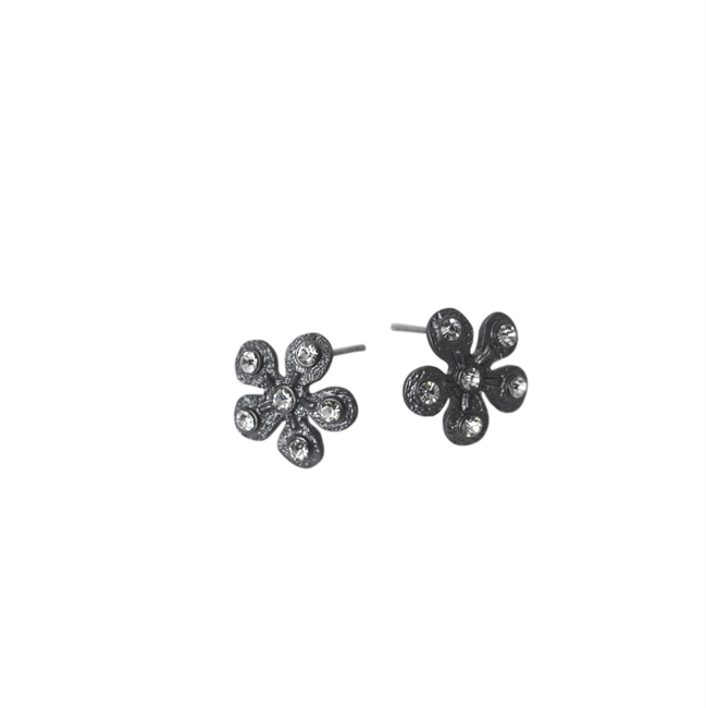 Picture of Earring Hanna, matte gun black