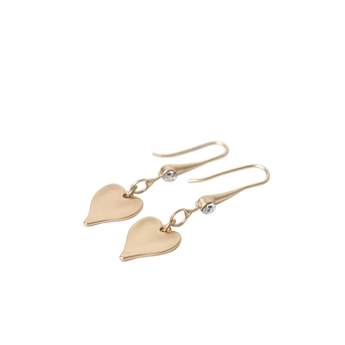 Picture of Earring Ramona, matte gold