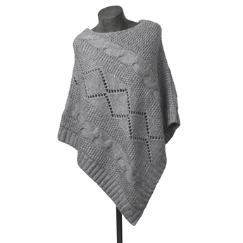 Picture of Poncho Anja, grey