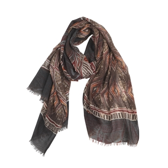 Picture of Scarf Viktoria, red mix