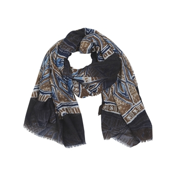 Picture of Scarf Viktoria, blue mix