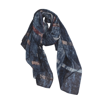 Picture of Scarf Elna, blue