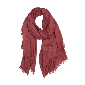 Picture of Scarf Capri, dk red
