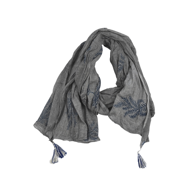 Picture of Scarf Porto, grey/navy