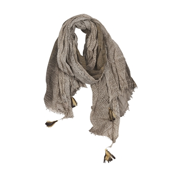 Picture of Scarf Bologna, taupe