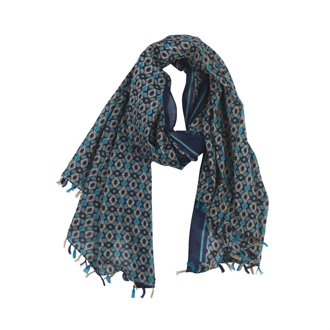 Picture of Scarf Arezzo, blue