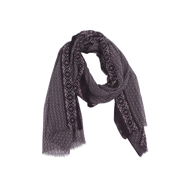 Picture of Scarf Parma, aubergine