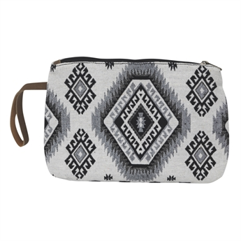 Picture of Pouch Alisa, black/white