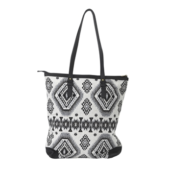 Picture of Shoulder bag Alisa, black/white