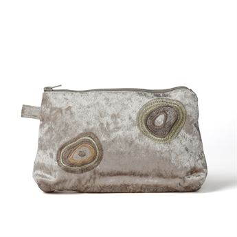 Picture of Cosmetic bag Ebba L, beige.
