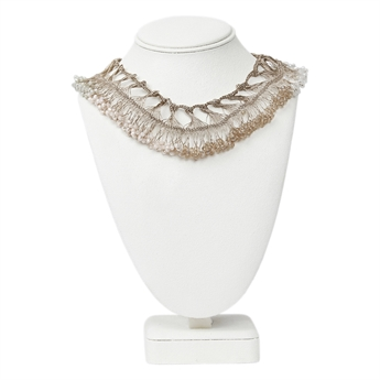 Picture of Necklace Desiree,  champagne mix