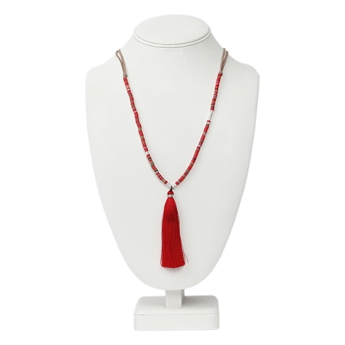 Picture of Necklace Nadine, red