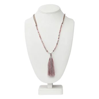 Picture of Necklace Anja, lt pink