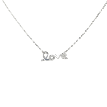 Picture of Necklace Love, silver