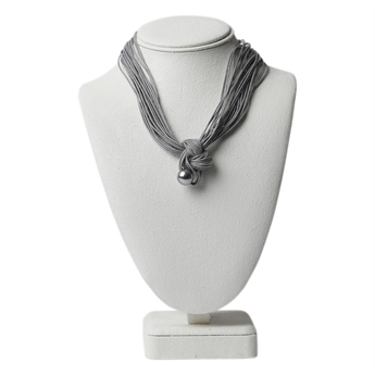 Picture of Necklace Joy, grey