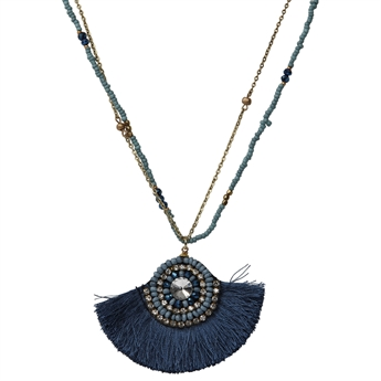 Picture of Necklace Ibiza, blue