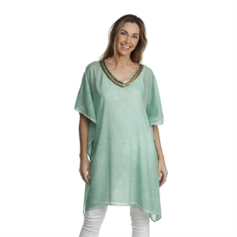 Picture of Kaftan Biarritz, sea green