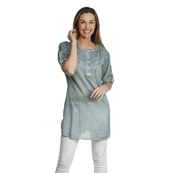 Picture of Tunic Eddie, sea green