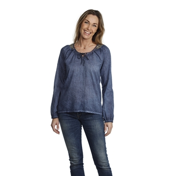 Picture of Tunic Maddie, dk blue