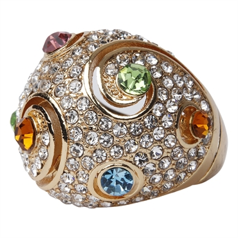 Picture of Ring Megan, gold mix