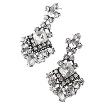 Picture of Earring Effie, crystal mix
