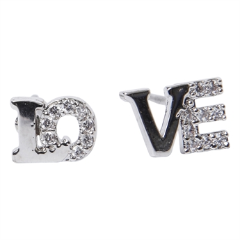 Picture of Earring Love, silver