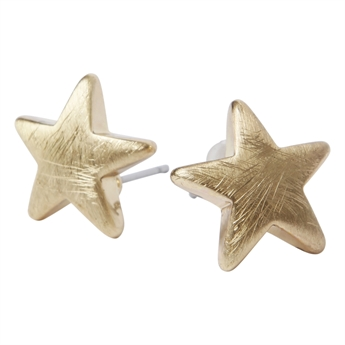 Picture of Earring Star, gold