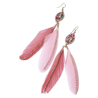 Picture of Earring Topsy, pink