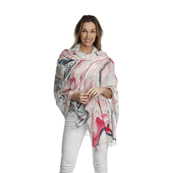 Picture of Scarf Celeste, pink