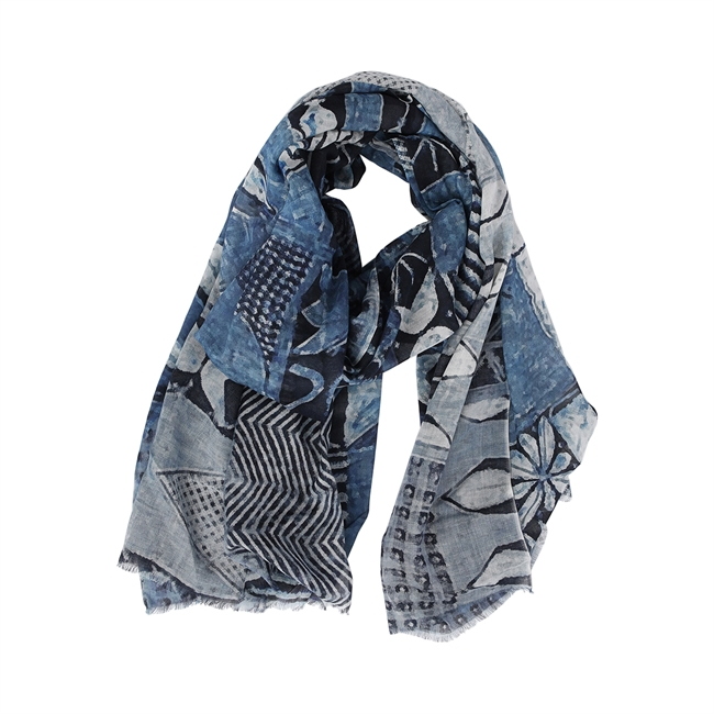 Picture of Scarf Andrea, blue
