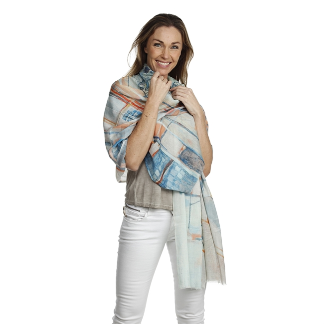 Picture of Scarf Trixie, pastel multi
