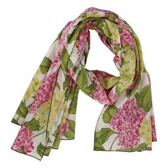 Picture of Scarf Abigail, pink/green
