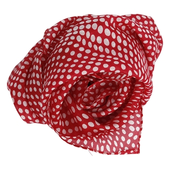 Picture of Mini scarf Honfleur, red