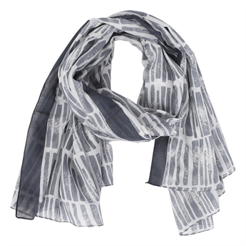 Picture of Scarf Dizzy, grey