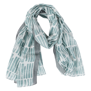 Picture of Scarf Dizzy, sea green
