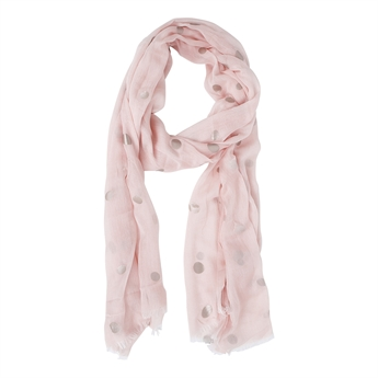 Picture of Scarf Leila, pink/silver